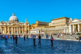 Walk from Vatican City to Trastevere