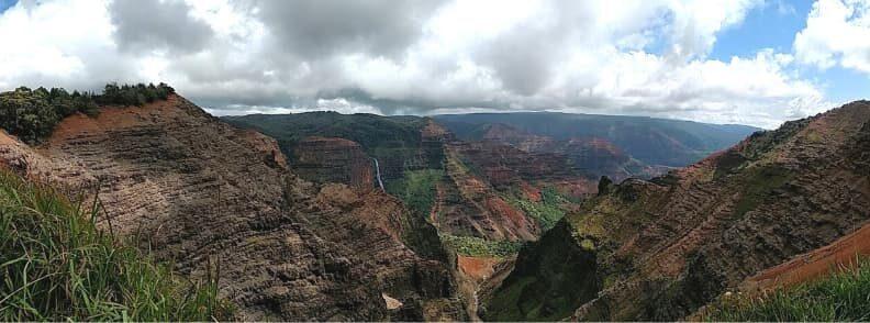 hawaii road trip waimea canyon