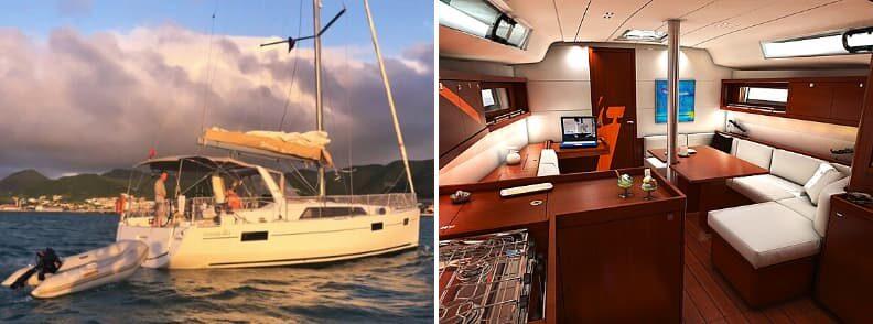 Bahamas yacht charter Beneteau Oceanis 41.1