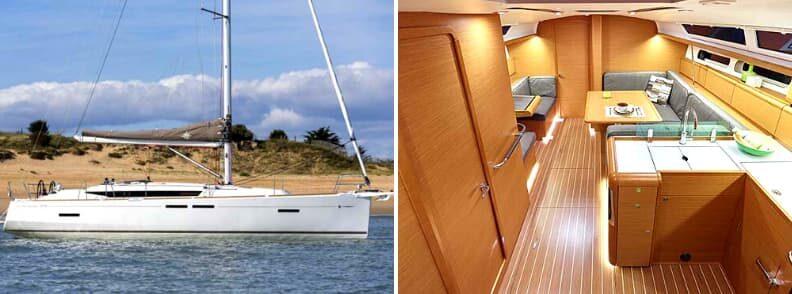 Bahamas yacht charter Jeanneau Sun Odyssey 419