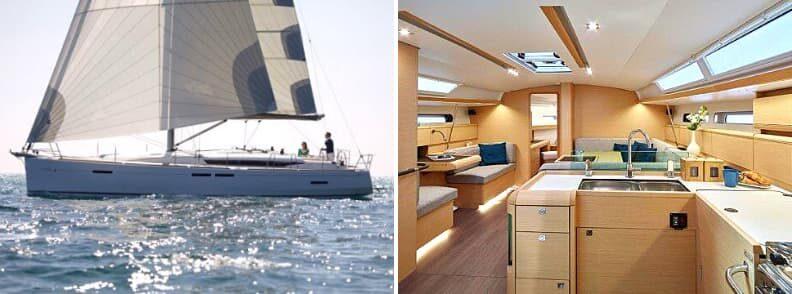 Bahamas yacht charter Jeanneau Sun Odyssey 449