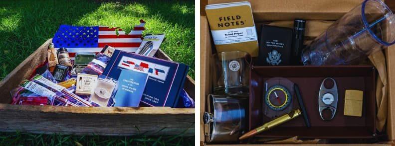 America Crate travel snack box subscription