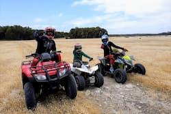 Kangaroo Island self drive tour on quad