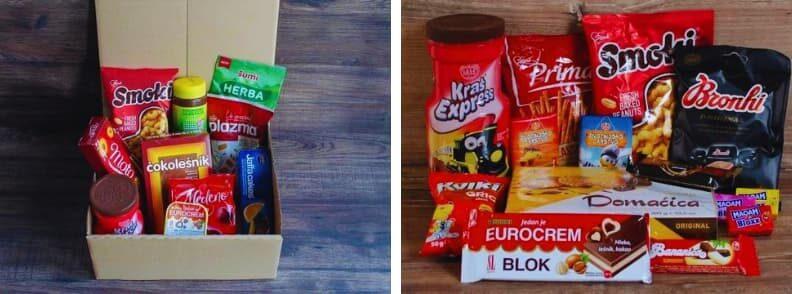 balkan treat snack candy box