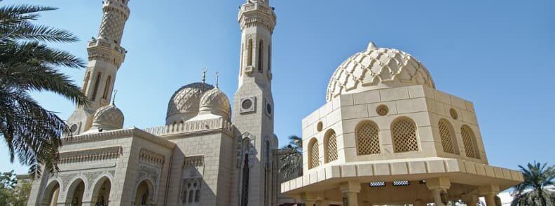 Jumeirah Mosque Dubai city tours